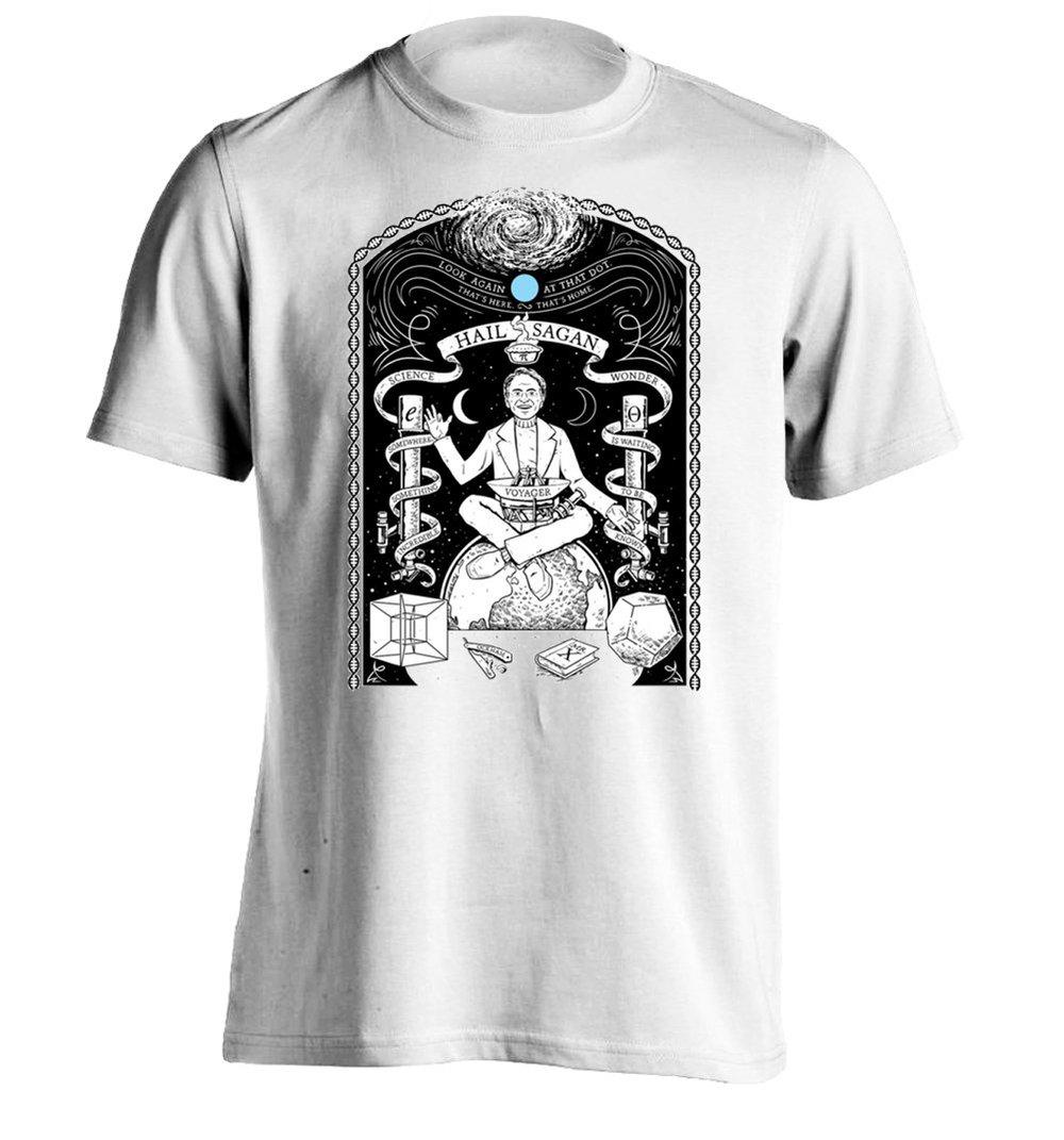 Shirt design printing - Sagan Mens Design T Shirt Printing Tee