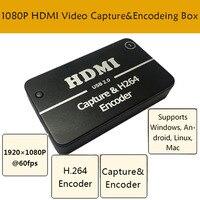Caixa de cartão de captura de vídeo hdmi 1080 p usb 2.0 aquisição de vídeo grabber placa dispositivo driver livre|Circuitos| |  -