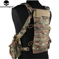 Emersongear LBT2649E Style 2.5L Hydration Back Panel MOLLE Pouch Cordura Hiking Camping Water Bag EM5815