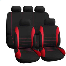 9 pcs conjunto Completo tampa de assento Do Carro covers protector 8 9 7 universal auto acessórios Interior para honda accord civic fit(China)