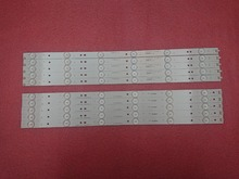 (New Kit)10 PCS LED backlight  strip for 49D1000 49C1000 850095046 LB C490F13 E2 L G1 SE2 LB C490F13 E2 L G1 SE3 SVJ490A06 A09