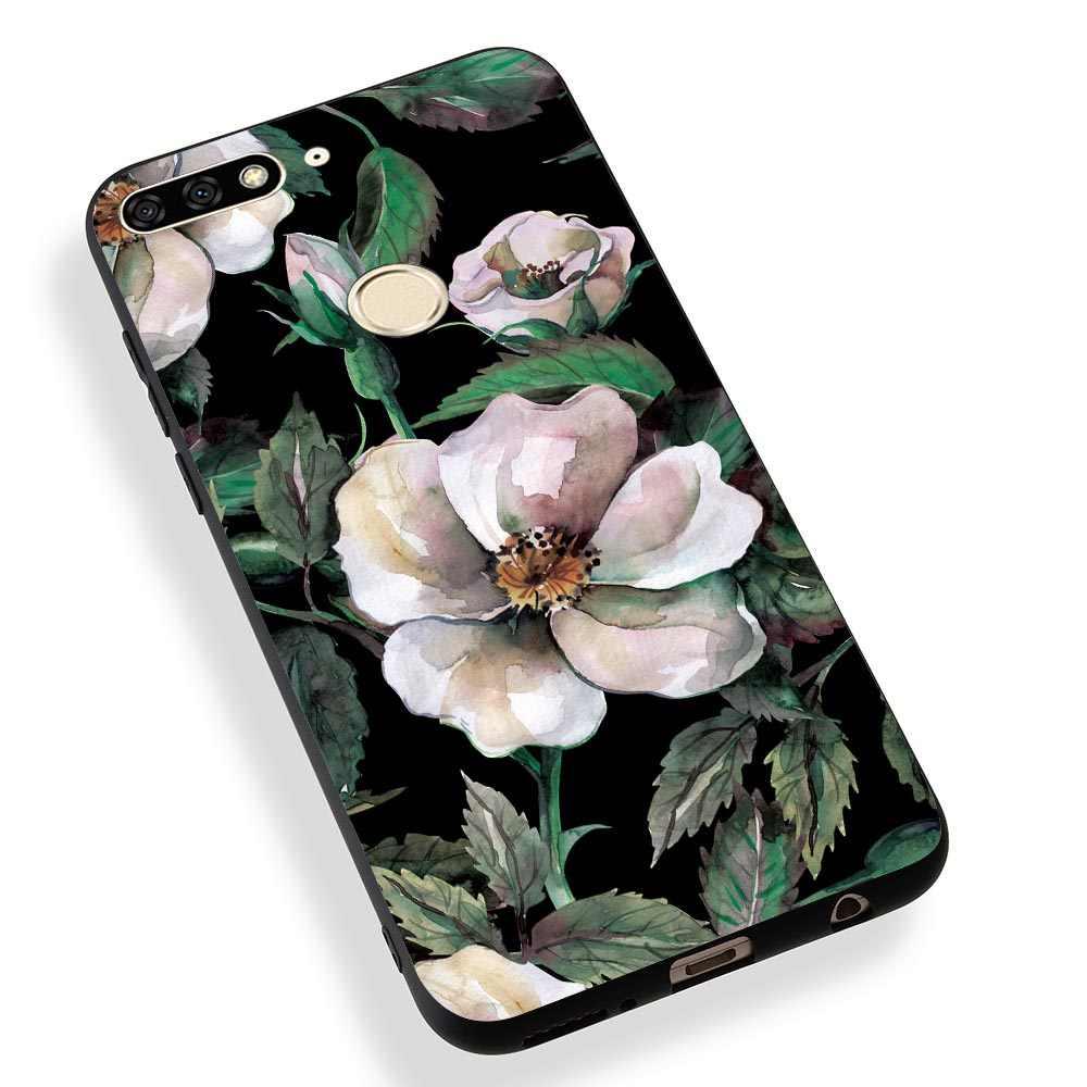 Telefon kılıfı Huawei Nova 3 Için 3i Mate 20 Lite Huawei Y7 Başbakan 2018 Kılıfları Onur 8X Not 10 Note10 Lüks mermer Yumuşak Kılıf Kapakları