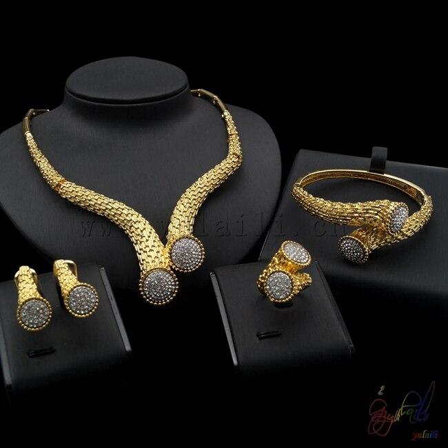 Yulaili Latest Artificial Jewelry Set Wholesale Market