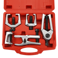 6pcs Set Front End Service Tool Kit Heavy Duty Forged Alloy Steel Joint Separator Remover Inner