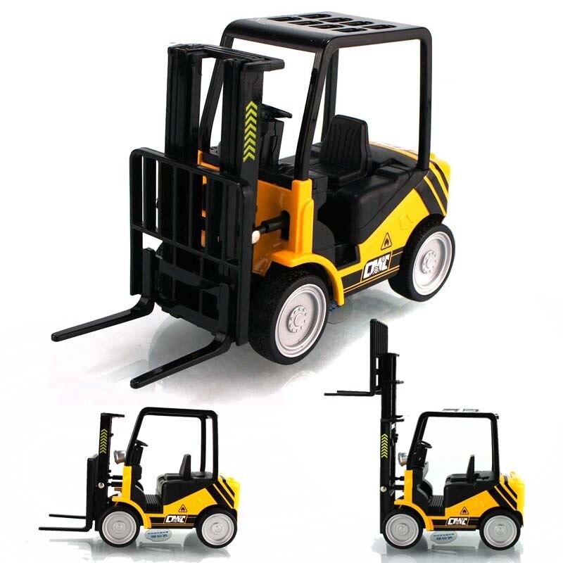 WARRIOR plain forklift model fork lift car model toys