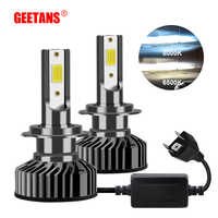 880 881 H11 Led CANBUS Mini Car Fog light H1 LED H4 H8 H9 9005 9006 H7 HB4 H3 H27 72W 8000LM 6500K 12V Auto Headlight led lamp