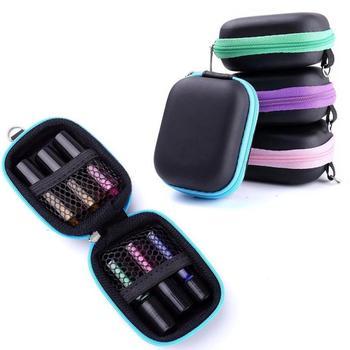 1pc Portable Essential Oils Storage Case Carry Case Esential Oil Roll On 5 ml Essential Oil Carrying Case #11040