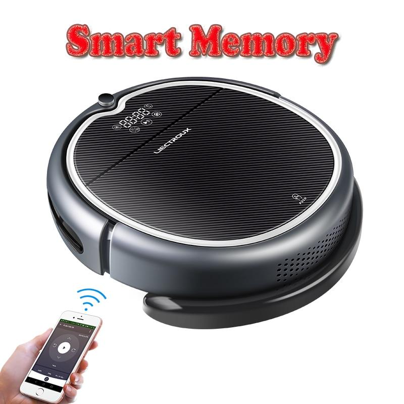 (Nueva llegada) LIECTROUX Robot aspirador Q8000, WiFi App, mapa de navegación, succión 3000 Pa, memoria, seco húmedo fregona, mejor Aspirador