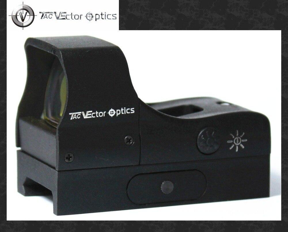 Vector Optics Prédateur 1x28x20 Compact Tactique Tir Red Dot Lunette De Visée Gun Sight fit 20mm Picatinny weaver Rail Choc Preuve
