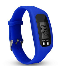 Display Sports Gauge Step Tracker Digital LCD Pedometer Run Step Walking Calorie Counter Wrist Sport Fitness Watch Bracelet 30(China)