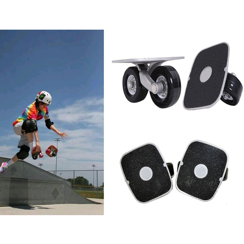 Drift board skate Sportives alliage d'aluminium W/Roulements Performance roues pour skate