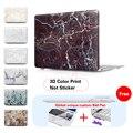 Мраморный Матовый Чехол для Macbook Air Pro Retina 11 12 13 15 14-дюймовый Ноутбук Сумки для Mac Book 13.3 дюймов Клавиатура Обложка + 3D Печати Мяч ручка