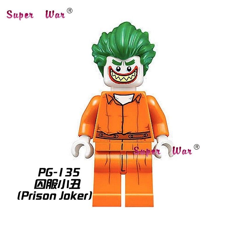 1PCS star wars superhero marvel PG135 Joker Batman building blocks sets model bricks toys for children