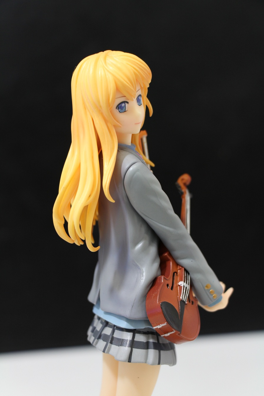 Toys & Hobbies New Comic Amine Gsc Your Lie In April Shigatsu Wa Kimi No Uso Miyazono Kaori Violin Figurine 20cm Figure Toy