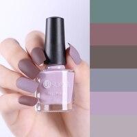 UR SUGAR матовый лак для ногтей чистый цвет дизайн ногтей маникюрный лак 6 цветов Маникюр