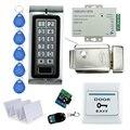 Envío Libre a prueba de agua sistema de Control Remoto de bloqueo de control de Acceso Con teclado de Metal con Control Electrónico De Bloqueo de La Puerta + 10 tarjetas