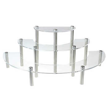 Acrylic Cupcake Stand 3 Tier Cake Stand Wedding Cupcake Display Rack Holder Dessert Serving Platter For Christmas Party Crafts - DISCOUNT ITEM  53 OFF Home & Garden