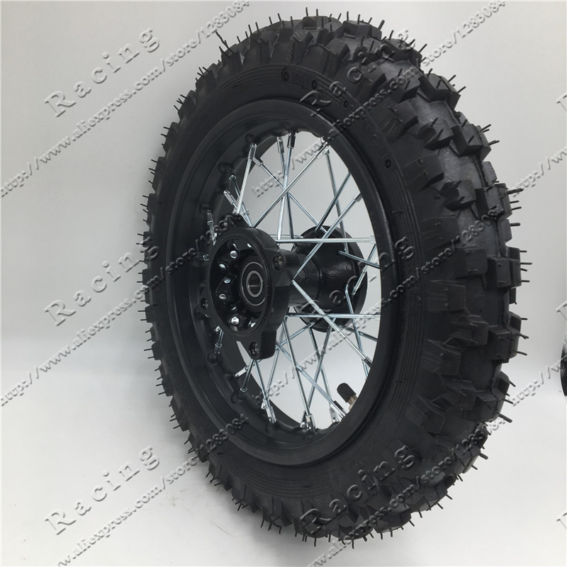 "Front Wheel Tire 10"" 2.50 10 Rim Tyre Crf50 Dirt Pit"