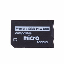 Mini Memory Stick Pro Duo Card Reader New Micro SD TF to MS Card Adapter for PSP Converter Micro SD Card Adapter Case