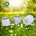 Дискавери Приключения Кемпинг посуда эмалированная чашка 450 мл белая на открытом воздухе чайная чашка прочное хорошее качество