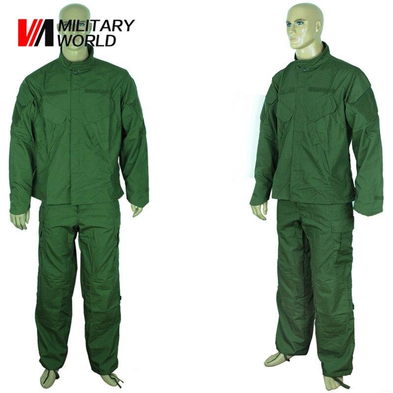 Military Tactical Uniform Jacket Shirt And Pants Men Combat Uniform Gear Training Hunting Outdoor Camouflage Suit Clothing hot sale gen2 official tactical military training uniform combat clothing pant