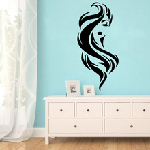 Beauty sexy woman Wall Sticker Pvc Stickers Art Paper For Kids Rooms Decal