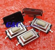 цена на 50pcs 3X6X2.5mm Tactile Push Button Switch Tact Switch Micro Switch 2-Pin SMD