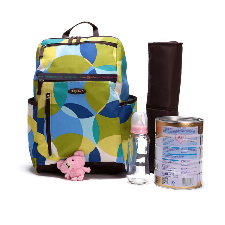 Stripes Backpack Diaper Bag Baby Nappy Bags Large Maternity Bag Best Baby Changing Bag Cute Diaper Diaper Backpack