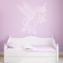 Lovely horse Wall Sticker Pvc Removable Decor Living Room Bedroom Decoration Accessories Murals