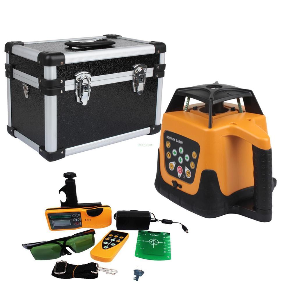 Yonntech 360 Degree Self-leveling Rotary Laser Automatic Leveling 500m Laser Green Beam