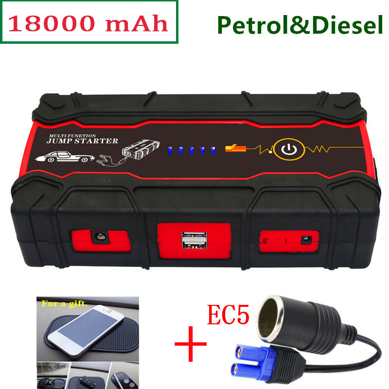 2017 Starting Device Car Jump Starter 800A Power Bank 12V Portable Starter Car Charger for Car Battery Booster Buster Diesel CE купить