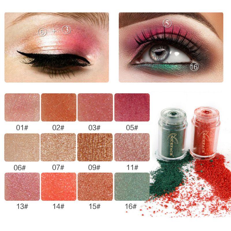Glitter Eyeshadow Powder Waterproof Loose Shimmer ...