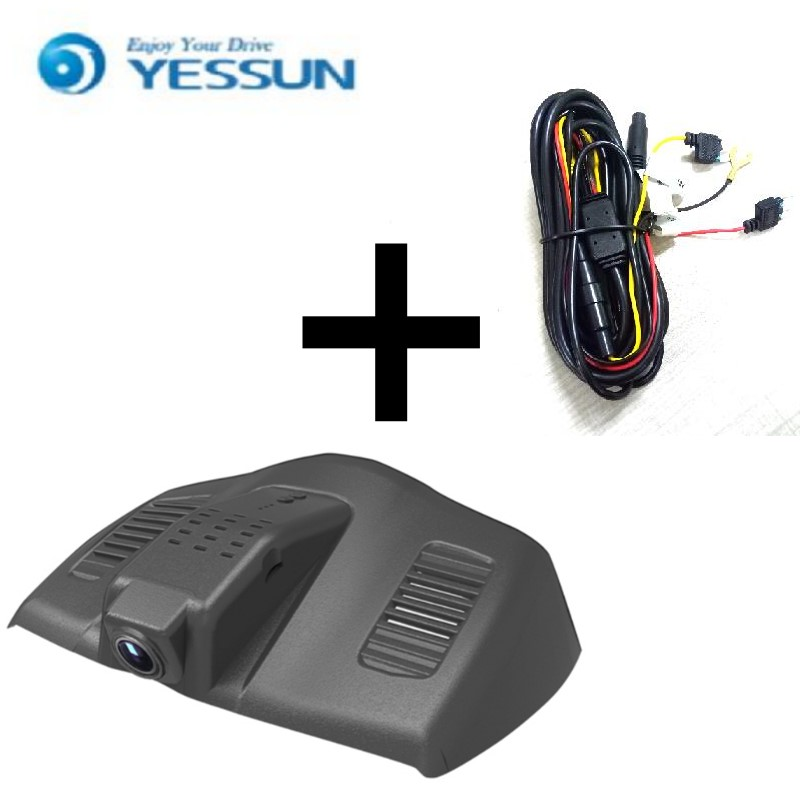 YESSUN For Ford For Mondeo 2015 / Car Driving Video Recorder DVR Mini Control APP Wifi Camera Black Box / Registrator Dash Cam for peugeot 2008 car driving video recorder dvr mini control app wifi camera black box registrator dash cam original style