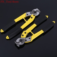New 1 pcs 12 Multi specification cable cutter Wire cutters Hand cable scissors Non slip handle