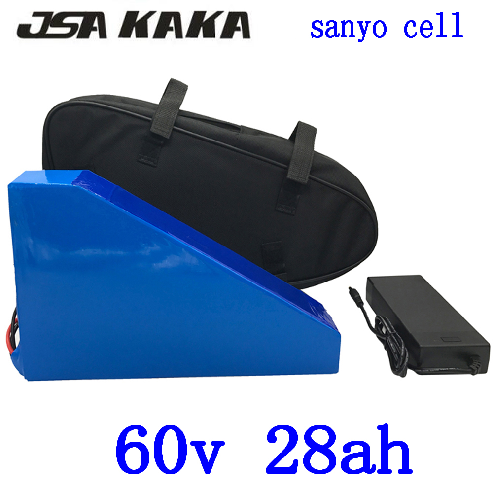 60V 1500W 2000W battery 60V 28AH electric bicycle battery 60V 28AH lithium battery use sanyo cell With 50A BMS+ 67.2V charger60V 1500W 2000W battery 60V 28AH electric bicycle battery 60V 28AH lithium battery use sanyo cell With 50A BMS+ 67.2V charger