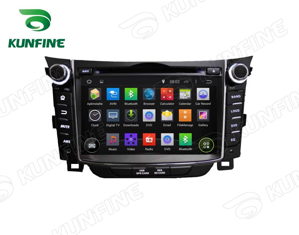 Car dvd GPS Navigation player for I30 2011-2013 7 inch B