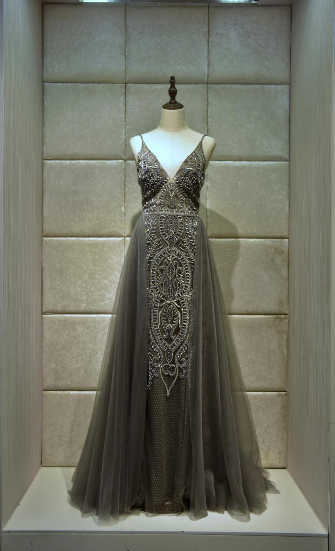 Elegance Evening dress vestidos de fiesta de noche robe de soiree Elegance and luxury long dress