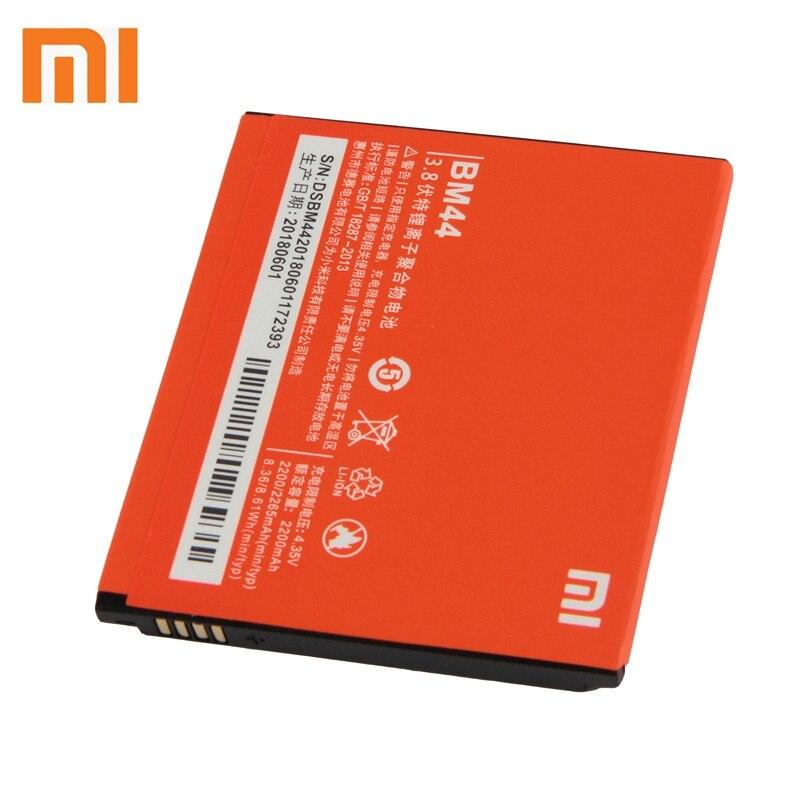 Xiao mi Xiao mi BM44 Bateria Do Telefone Para Xiao mi Vermelho 1 2 2 Red mi mi mi Vermelho S vermelho mi mi 2A Vermelho 2A 2265 mAh Da Bateria de Substituição Original