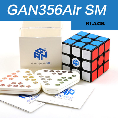 GAN 356 Air SM vitesse Cube avec aimants positionsusuperspeed magnéto magic System GRSv2 nid d'abeille surface de contact 3x3 Cubes - 3