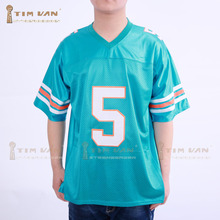 TIM VAN STEENBERGEB Ray Finkle 5 Novelty Football Jersey Ace Ventura Movie  Reference f14584ab0