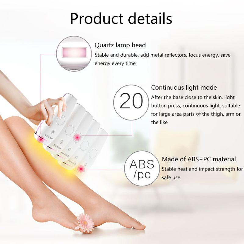 Image 2 - 300000 flash professional permanent IPL epilator laser hair removal electric photo women painless threading hair remover machine-in Epilators from Home Appliances
