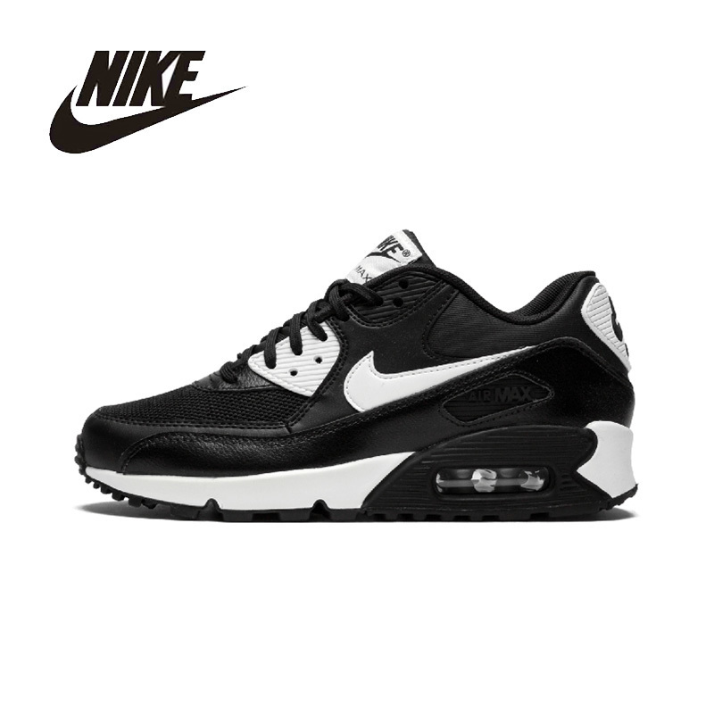 NIKE AIR MAX 90 Womens Running Shoes Breathable Footwear Super Light Comfortable Support Sports Sneakers For Women Shoes original nike sneakers breathable air max motion lw women s running shoes beginner summer air mesh sports sneakers women shoes