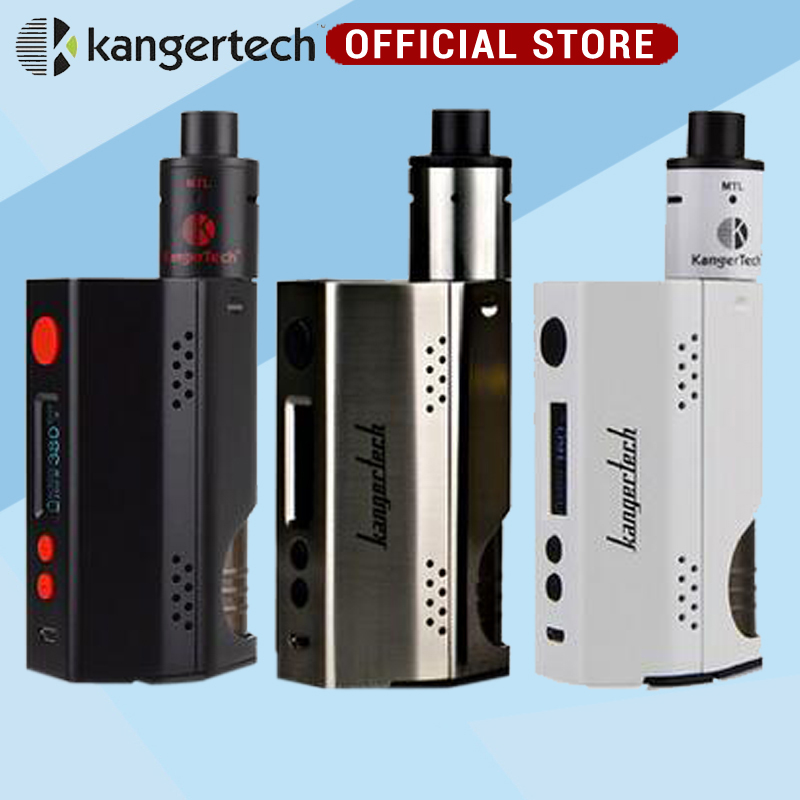 Kanger vape Dripbox 160W Starter Kit with 7ml Capacity Subdrip RDA Atomizer and TC 160W Dripmod e electronic cigarette yiloong vape geyscano bf rda