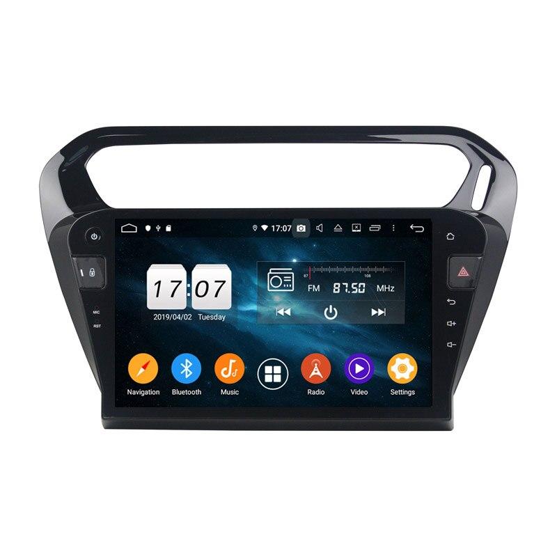 64G Android 9.0 pour PEUGEOT 301 2013-2016 Octa Core PX5 voiture DVD multimédia GPS Navigation Auto radio lecteur dvd
