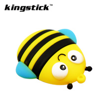 USB Flash Drive 64g 32g 16g Fox/bee/Owl/Penguin Pen Drive 4gb 8gb  128gb U Disk