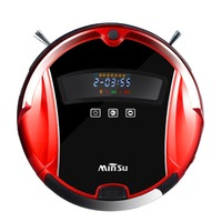 Minsu Family Automatic Smart Sweeping Robot Ultra Slim Sweep Floor Machine Intelligent Mute Vacuum Cleaner For