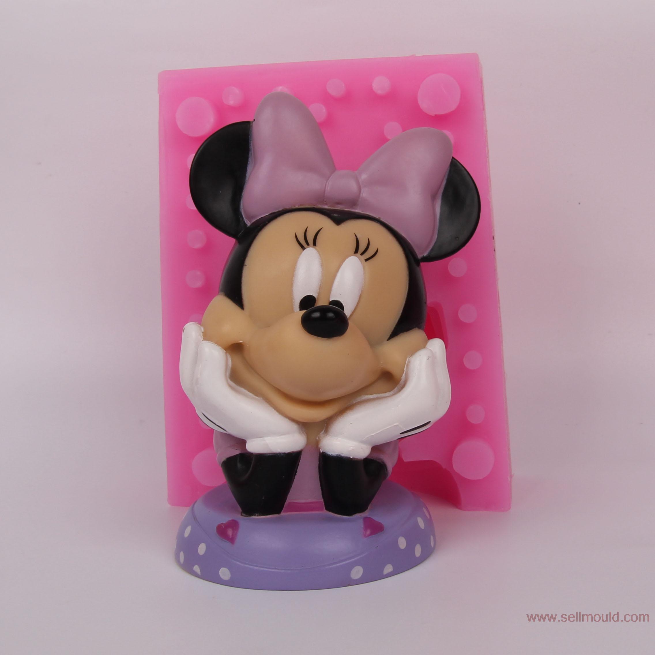 3d silicone bougie moules chocolat résine artisanat moules moule gâteau décoration outils souris BKSILICONE WB021