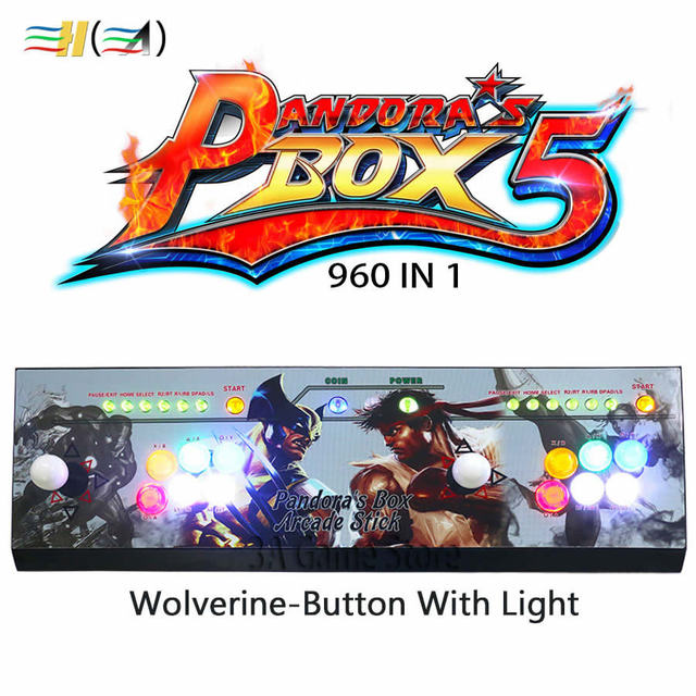 Incorporado Caja De Pandora 5 960 En 1 Juegos Arcade Joystick