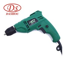 DS 10mm Handheld Electric Drill Electrical Tools Household 220v 580w Mini Electric Drill Forward And Reverse Speed Drill ac220v 380w 580w 3 8 inch with keyless all metal chuck electric drill screwdriver household tools torque adjustment drill
