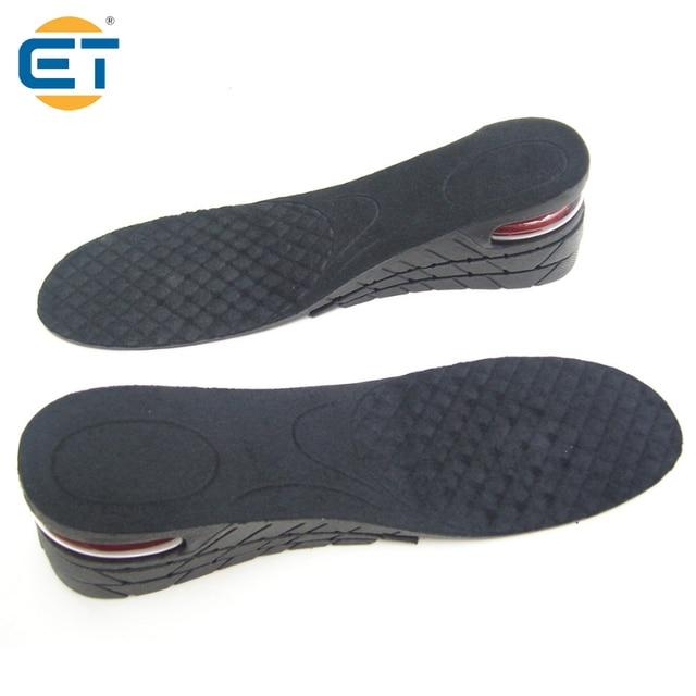 Ascensor Unisex Cojin De Aire Plantillas De Zapatos 4 Capas De Insercion Del Talon Aumenta Mas Alto NgmvK